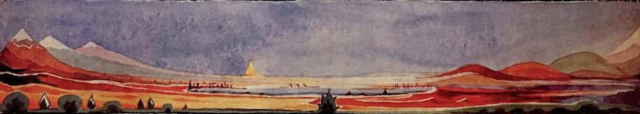Lake Mithrim by J.R.R. Tolkien